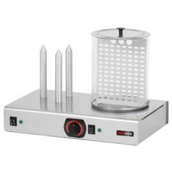 HD - 3N Hot-dog z pojemnikiem podgrzewanym