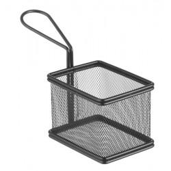 Koszyk miniaturowy do smażonych przekąsek 100x80x75