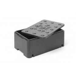 Pojemnik termoizolacyjny z piocelanu, o wym. 500x300x213 mm, 20,04L