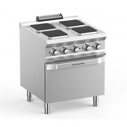 Kuchnia elektryczna 4-płytowa z piekarnikiem elektrycznym, linia DominaPro 700