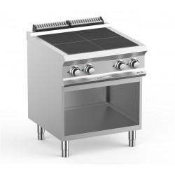 Kuchnia elektryczna- 4 płytowa na podstawie, linia DominaPro 700