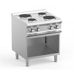 Kuchnia elektryczna 4-płytowa na podstawie, linia DominaPro 700