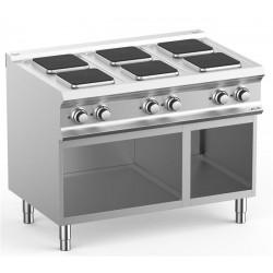 Kuchnia elektryczna- 6 płytowa na podstawie, linia DominaPro 700