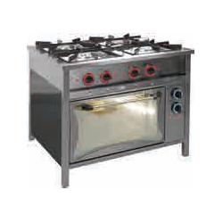 Kuchnia gazowa 4-palnikowa...