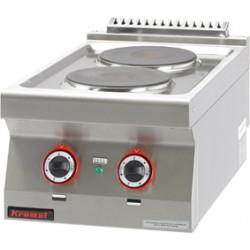 Kuchnia elektryczna 2 pytowa okrga - MAR.700.KE-2* - Kromet