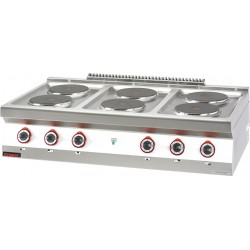Kuchnia elektryczna 6 pytowa okrga - MAR.700.KE-6* - Kromet