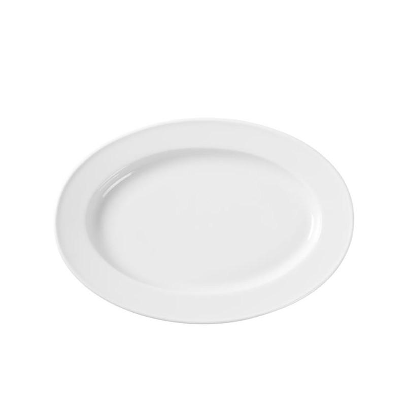 Półmisek owalny Bianco 340x240mm