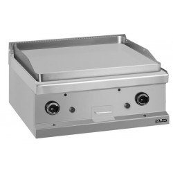 Płyta grillowa stołowa - gazowa, gładka chromowana linia 700 -