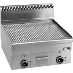 Płyta grillowa stołowa,ryflowana - elektryczna MBM600