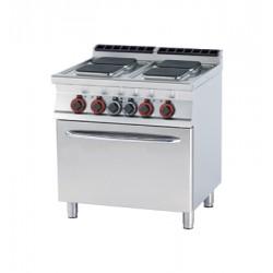 Kuchnia elektryczna zpiekarnikiem - CFVQ4 - 78 ET
