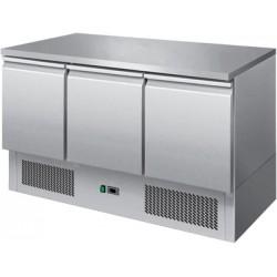 Stół chłodniczy - 3 drzwi - SCH - 3