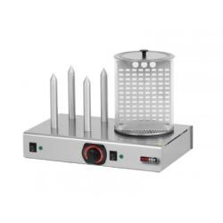 Hot-dog z pojemnikiem podgrzewanym - HD - 4N