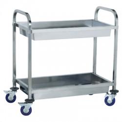 Wózek kelnerski - półki głębokie - TRL - 2 KG