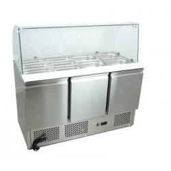 Stół chłodniczy sałatkowy nierdzewny - SCHS - 3