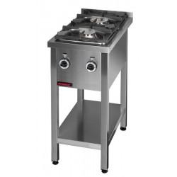 Kuchnia gazowa 2-palnikowa KG-2M