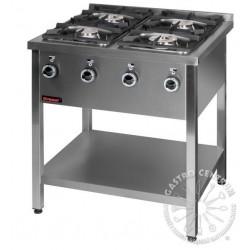 Kuchnia gazowa 4-palnikowa KG-4M