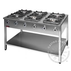 Kuchnia gazowa 6-palnikowa KG-6L