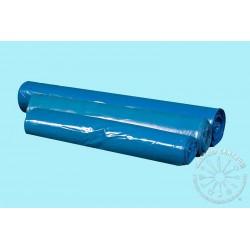 Worki LDPE mocne, 60l a'25, niebieskie