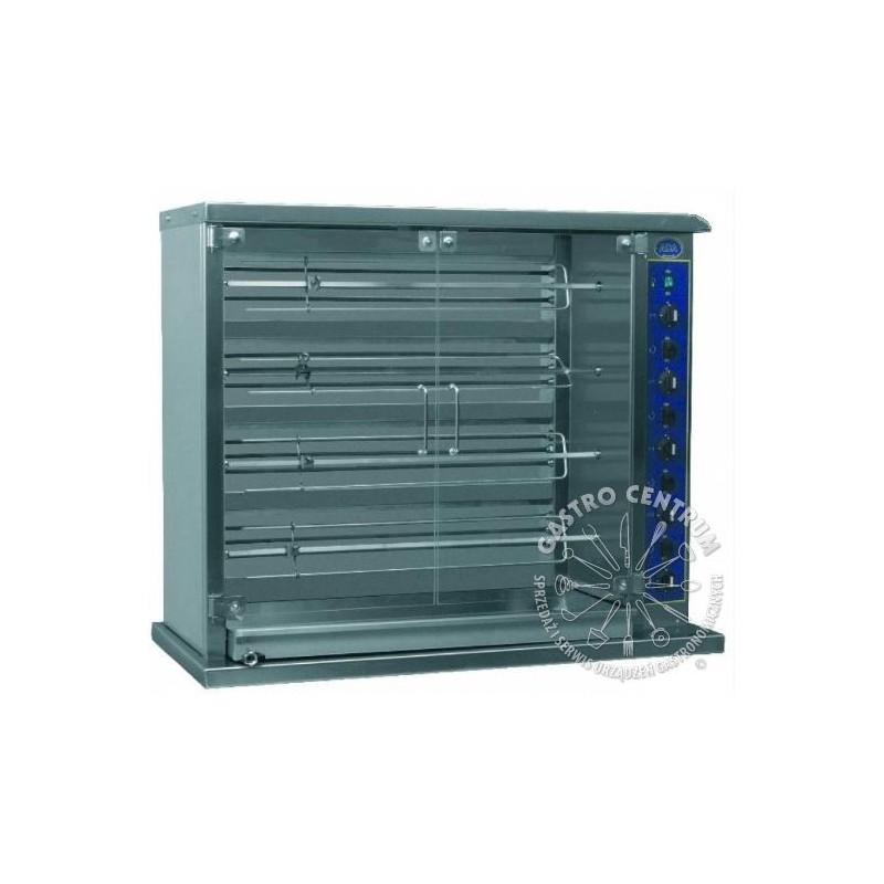 Rożen elektryczny jednorzędowy (4 x 6 kurczaków) - ADA-E 24 R