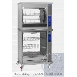 Rożen elektryczny karuzelowy na 25 kurczaków - ADA-Ek 25