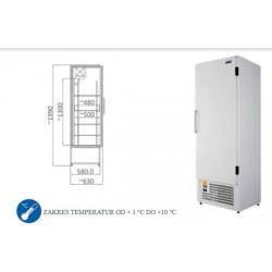 Szafa chłodnicza 500 l - SCH 600