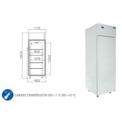 Szafa chłodnicza 540 l - SCH 700