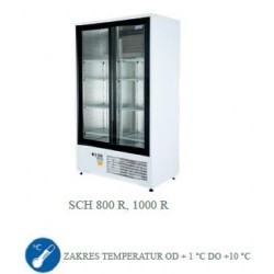 Szafa chłodnicza 1000 l - SCH 1000 R