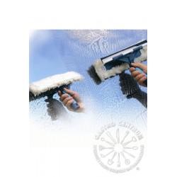 Zbierak ze zmywakiem COMBI 25cm do okien MO74325