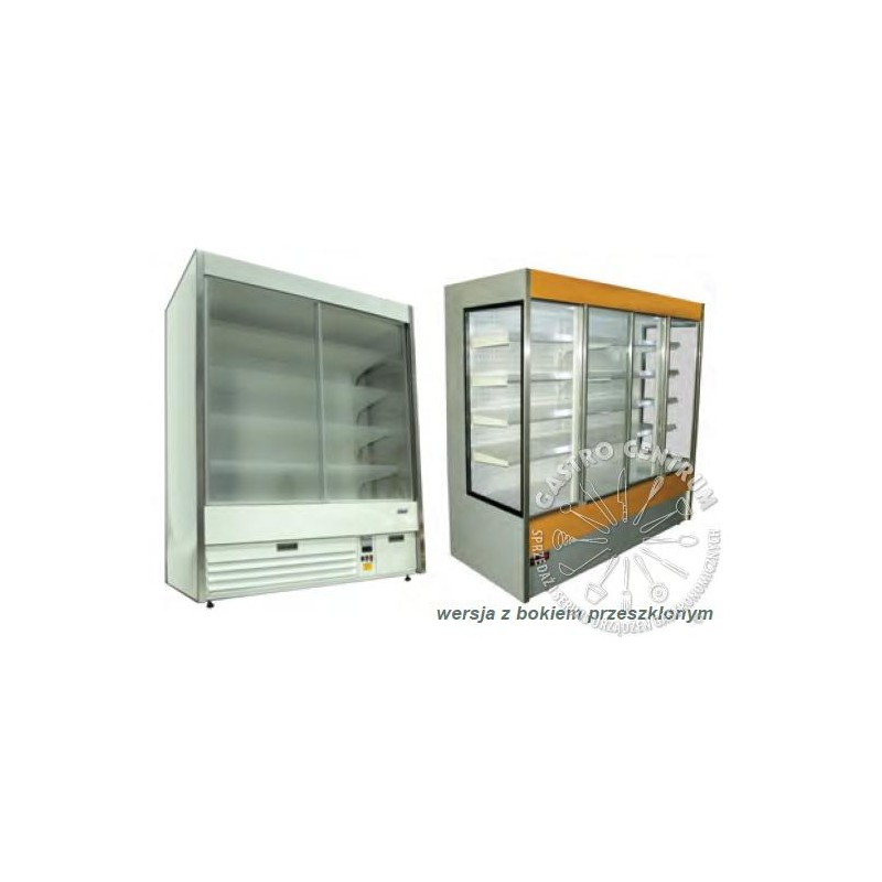 Regał chłodniczy - RCH 0.7 Dusseldorf - 2.5