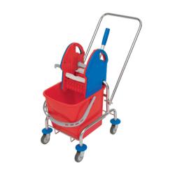 Pojedyncze wózki chromowane...