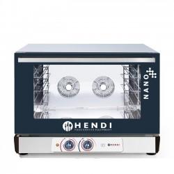 Piec piekarniczy konwekcyjny z nawilżaniem Hendi Nano – 4x 600x400 mm
