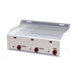 FTHRC 90 GL Płyta grillowa chromowana gazowa