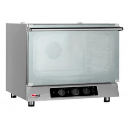 MR 321 Piec piekarniczy 3-półkowy 230V z płynnym naparowaniem