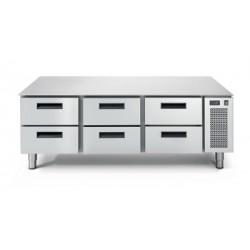 LS 703 TN/I 2C Podstawa chłodnicza 6-szufladowa
