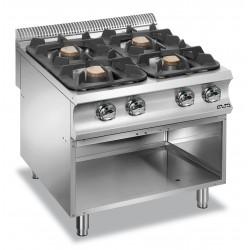Kuchnie gazowe z nowymi...