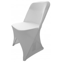Krzesło cateringowe z białym pokrowcem