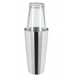 Boston Shaker 0,8l ze szklanką stalowy