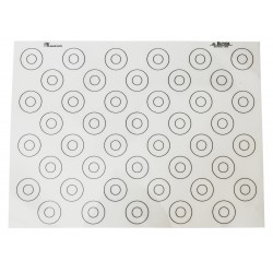 Mata silikonowa - wzór makaroniki 40x30 cm