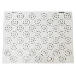Mata silikonowa - wzór makaroniki 60x40 cm