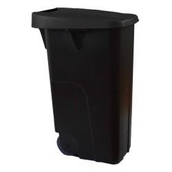 Pokrywa czarna do kosza DE-23450