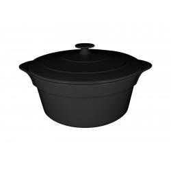 Kociołek porcelanowy 216 ml czarny