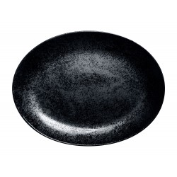 KARBON Półmisek owalny 32 cm