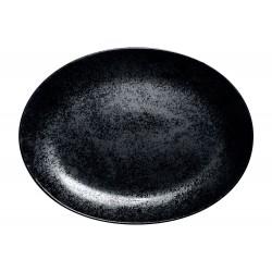 KARBON Półmisek owalny 36 cm