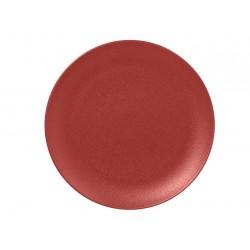 NEOFUSION talerz płaski 27 cm, bordowy