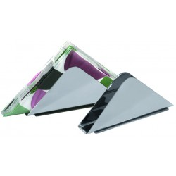Serwetnik stalowy trójkąt