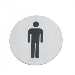 Tabliczka na WC - Mężczyźni