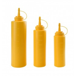 Dyspenser do sosów - żółty 0,4 l