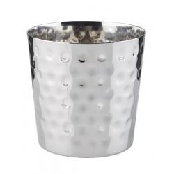 Kubełek stalowy, młotkowany - 0,3 l