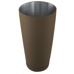 Shaker bostoński - obciążony 0,8l brąz