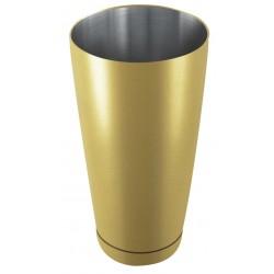 Shaker bostoński - obciążony 0,8 l szampanowy